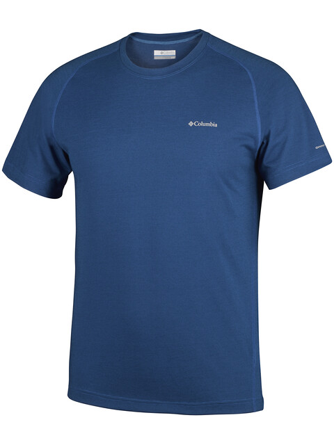 Columbia Mountain Tech III - Camiseta manga corta Hombre - azul